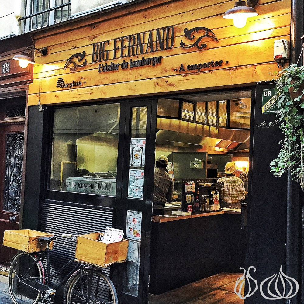 Big Fernand My Burger In Paris Nogarlicnoonions