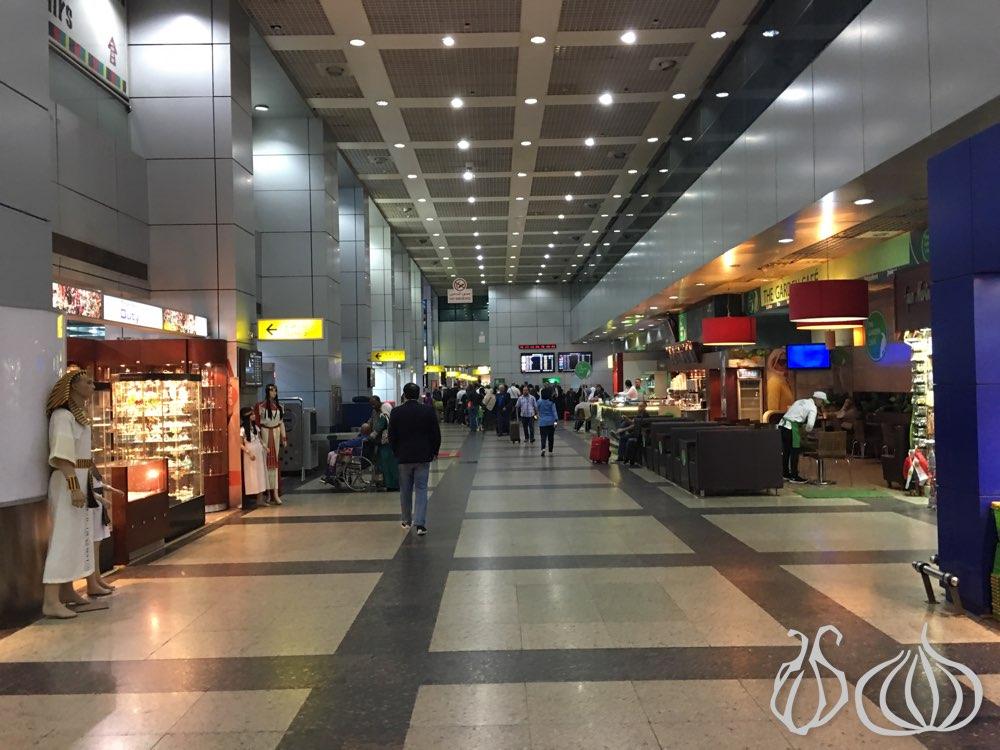 cairo airport terminals
