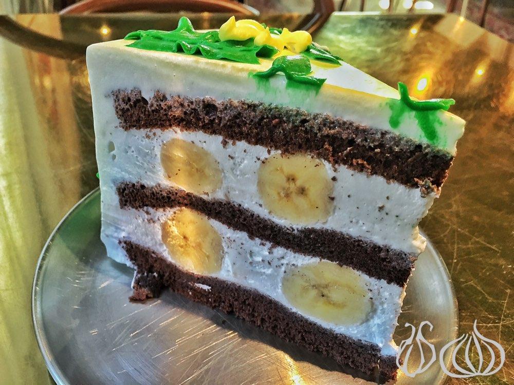 Korean Banana Cake Recipe: Doré Doré: Seoul's Famous Rainbow Cake :: NoGarlicNoOnions