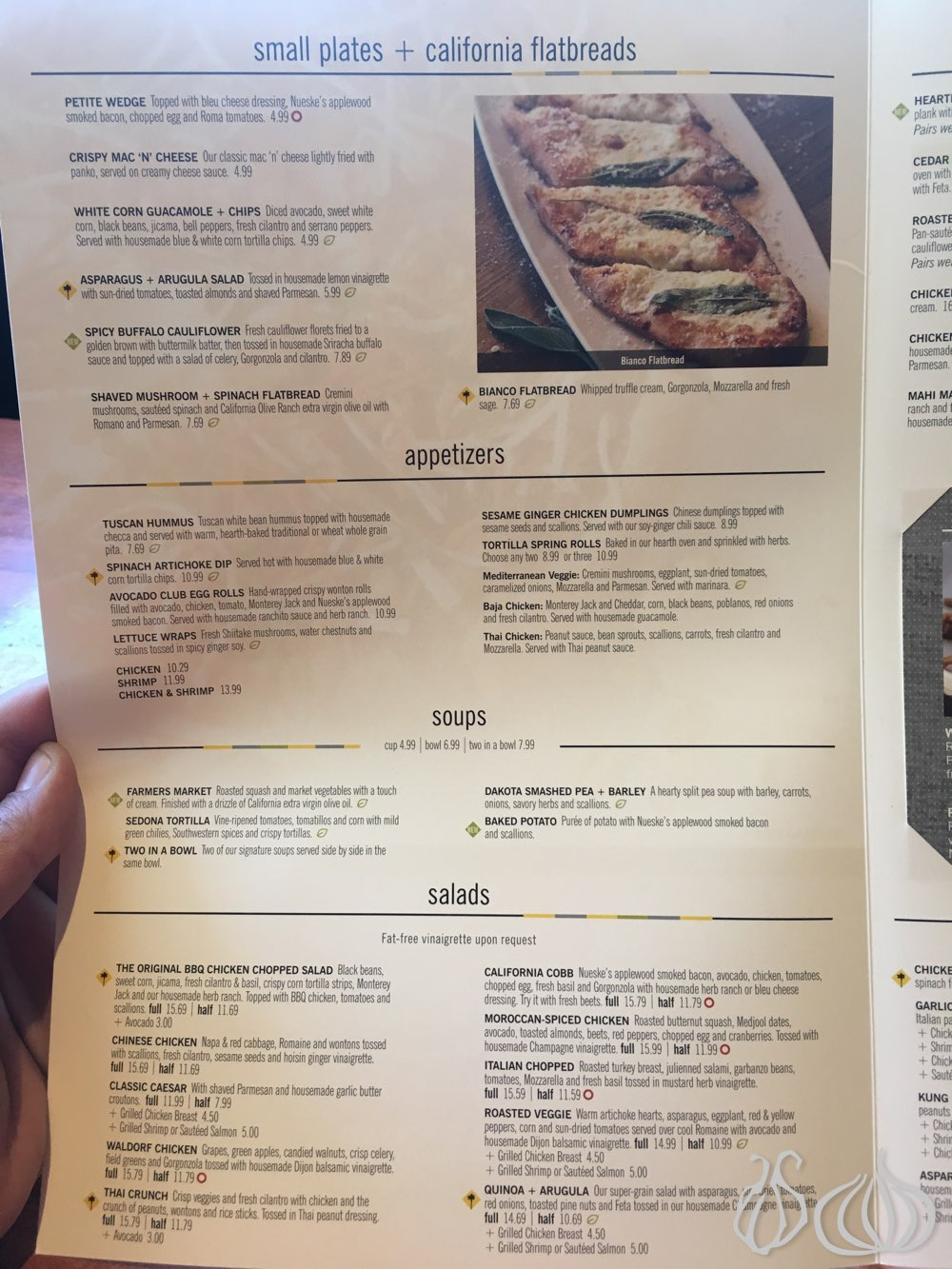 California Pizza Kitchen: Pizza and Flatbread :: NoGarlicNoOnions ...