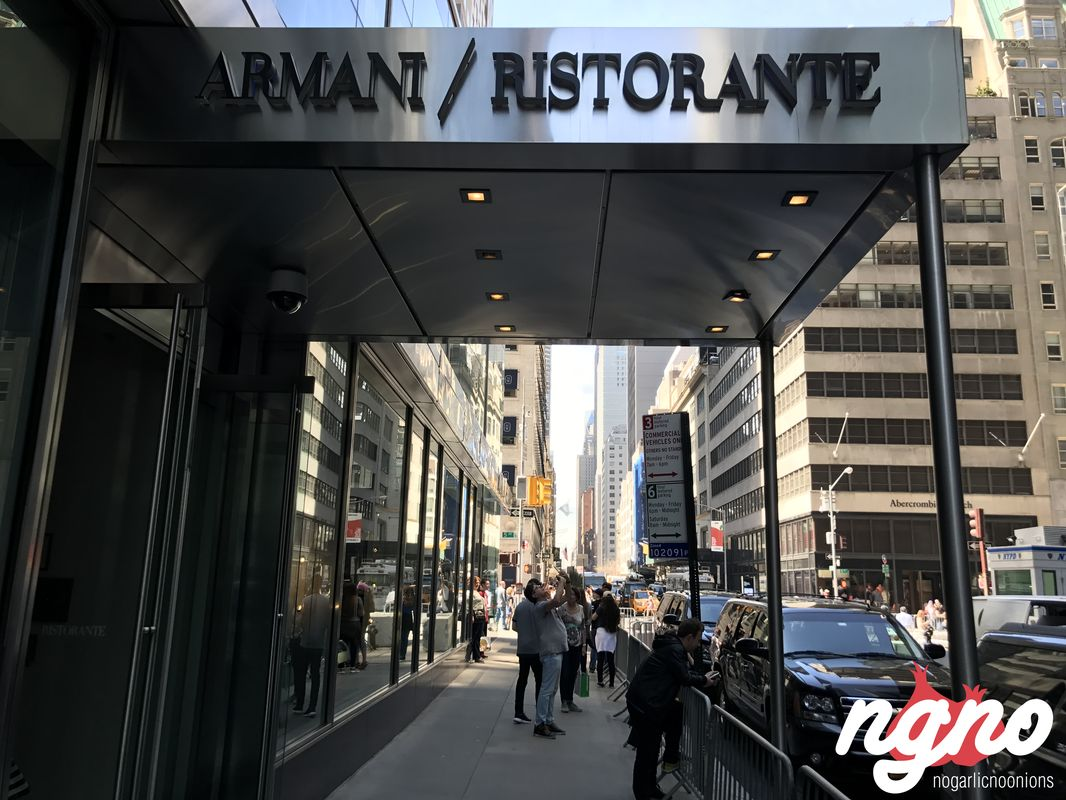 The armani ristorante of new york isn 39 t what i expected for Armani new york