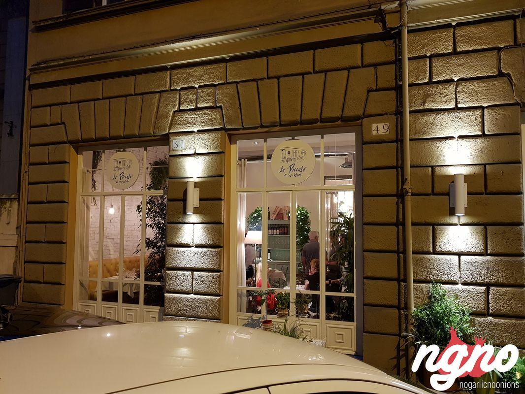 La piccola di casa bleve a favorite in roma for Schizzo di piccola casa