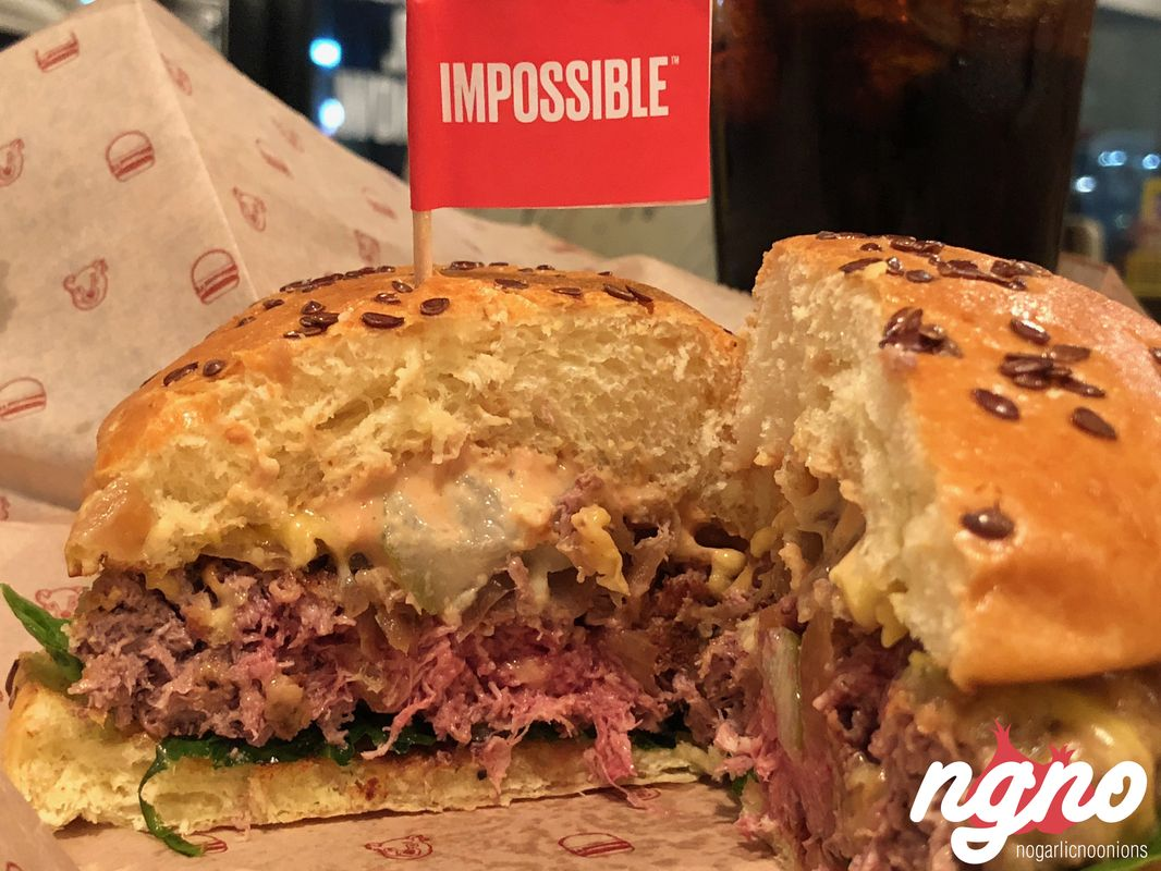 Impossible Burger: Impossible Burger: The Future Of Meat :: NoGarlicNoOnions