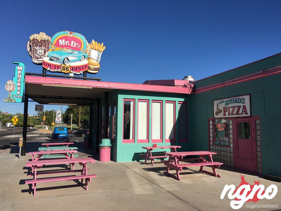 mr. d's: route 66 historical diner in kingman arizona