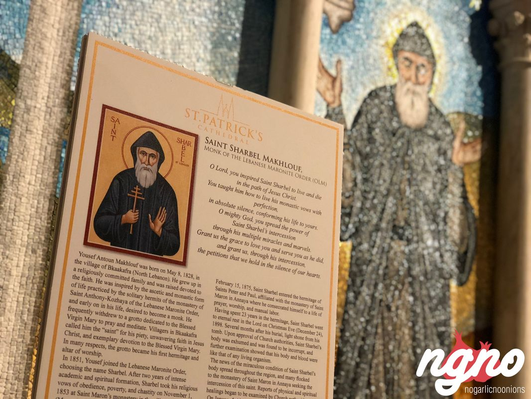 The Chapel of Saint Charbel Occupies an Important Spot