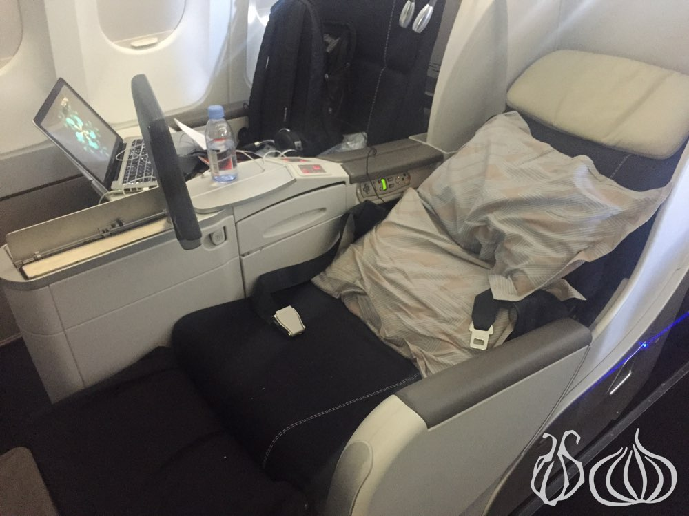 Air France Business Class Food Reviews
