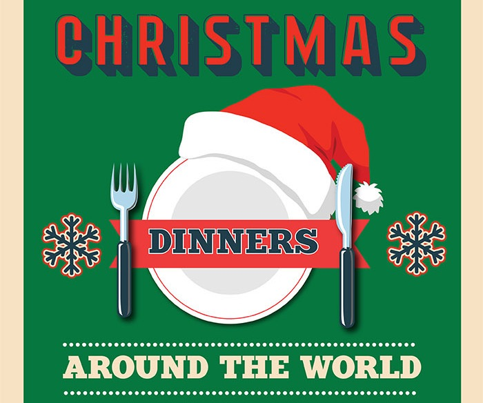 Christmas dinners around the world how would yours look like