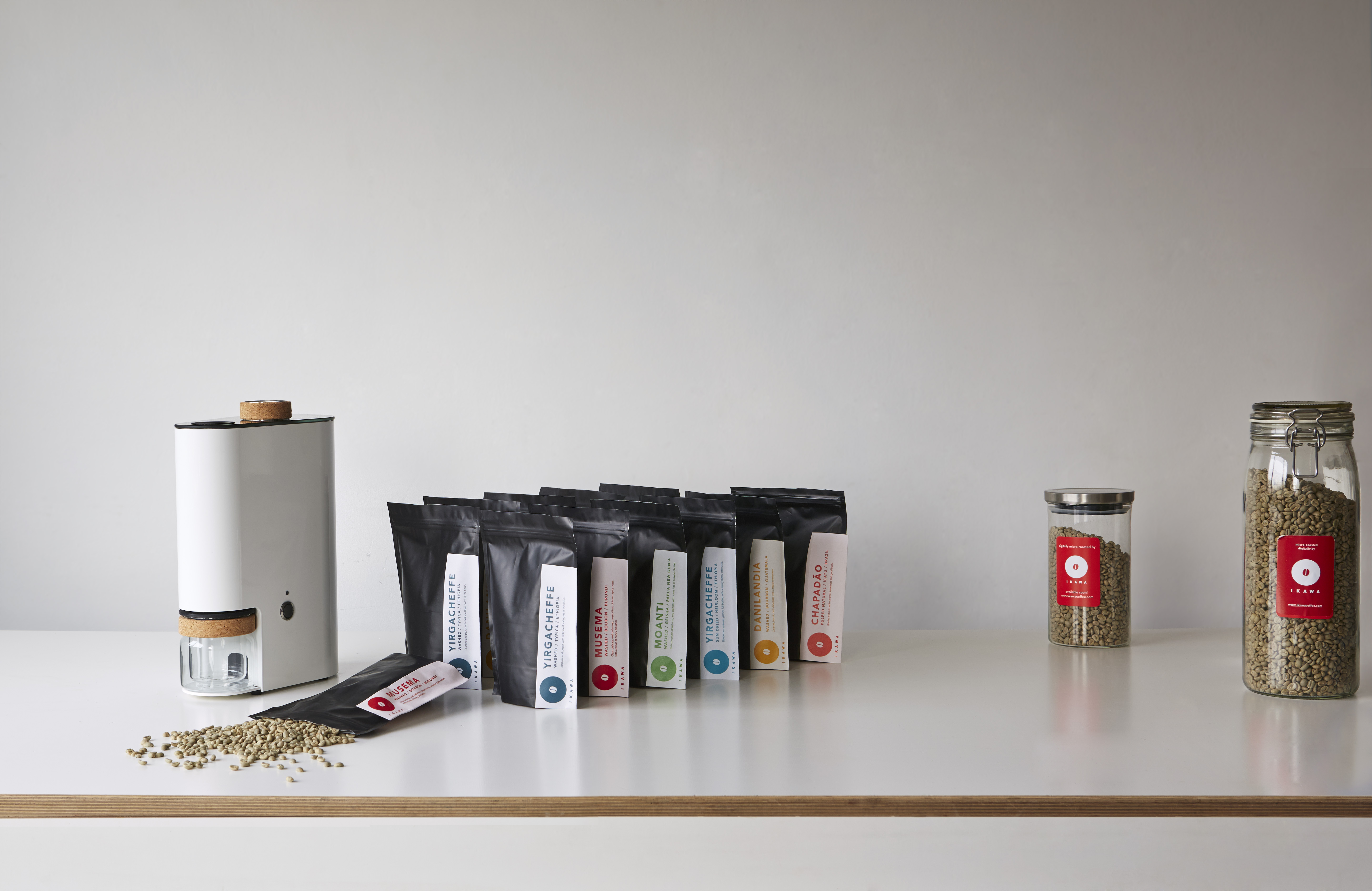 IKAWA Home Roaster with selection of green coffees - a Kickstarter reward