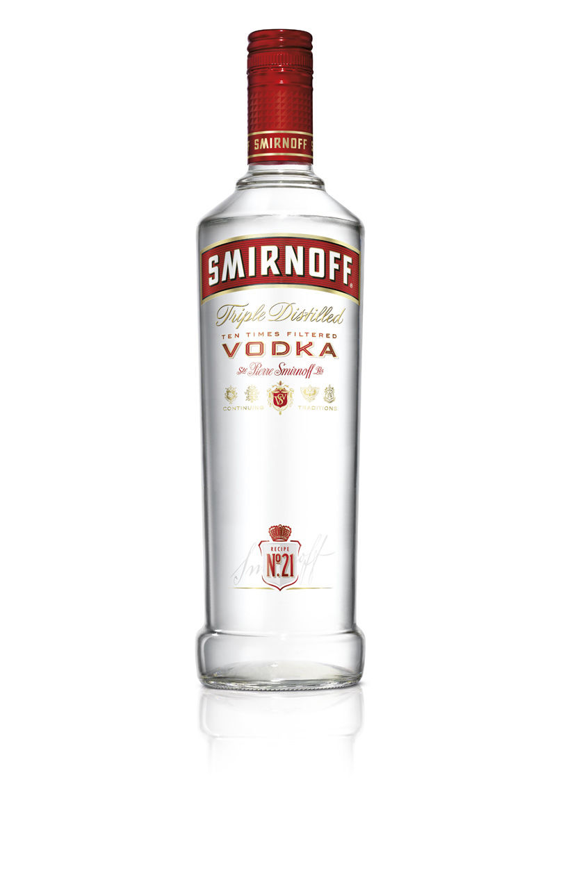 Smirnoff gets a more contemporary look nogarlicnoonions restaurant food and travel stories - Picture of smirnoff vodka bottle ...