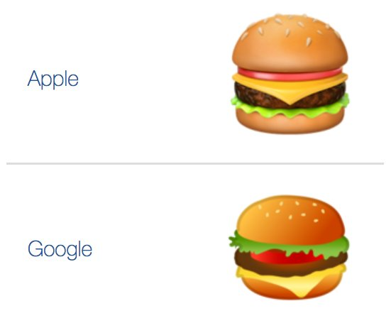 Burger apple google