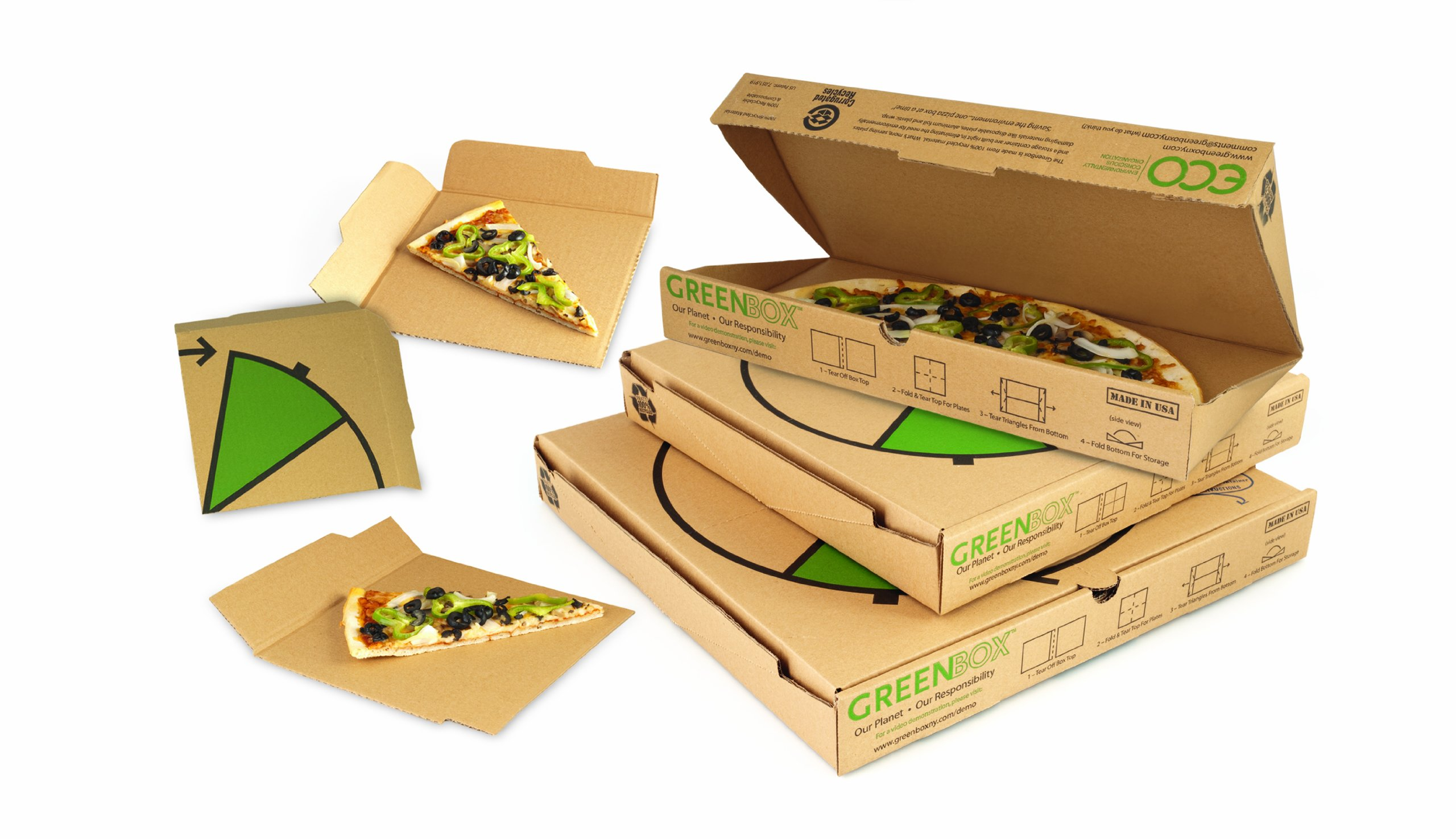 The pizza box of the 21st century nogarlicnoonions for Eco boxes