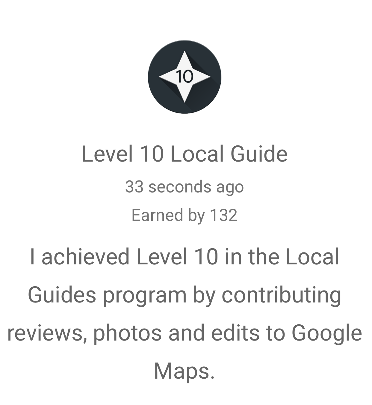 Local Guide Level 10
