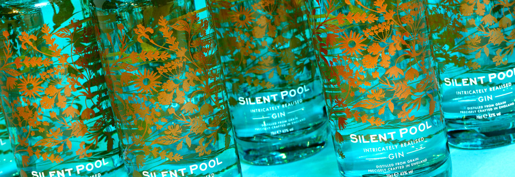 Silent pool gin the biggest gin bottle out there - Silent pool gin ...