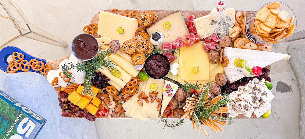 The Festive Cheese Board Charbel Mhanna