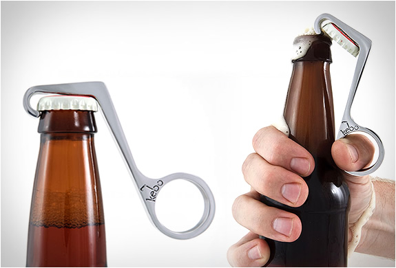 how to open a beer bottle with one hand