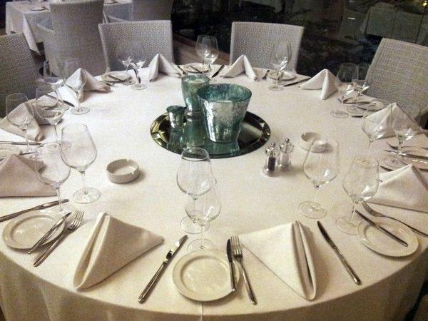 La Table Fine Mediterranean Cuisine At Its Finest - Fancy restaurant table
