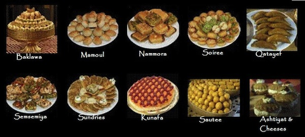 arabic food names pictures