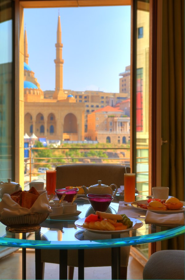 A Five Stars Breakfast In The Room At Hotel Le Gray Beirut Restaurant Closed Nogarlicnoonions Restaurant Food And Travel Stories Reviews Lebanon