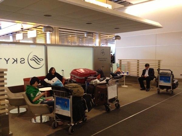 Skyteam Business Lounge Heathrow Airport London
