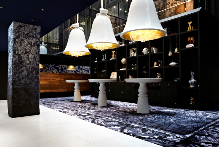 the world of designers hotels andaz amsterdam prinsengracht hotel by marcel wanders. Black Bedroom Furniture Sets. Home Design Ideas