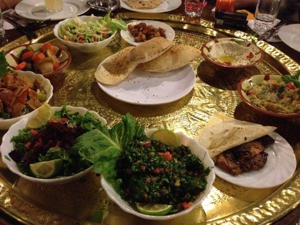 cera práctico Evolucionar  Tawaheen El Hawa Restaurant, Amman :: NoGarlicNoOnions: Restaurant, Food,  and Travel Stories/Reviews - Lebanon