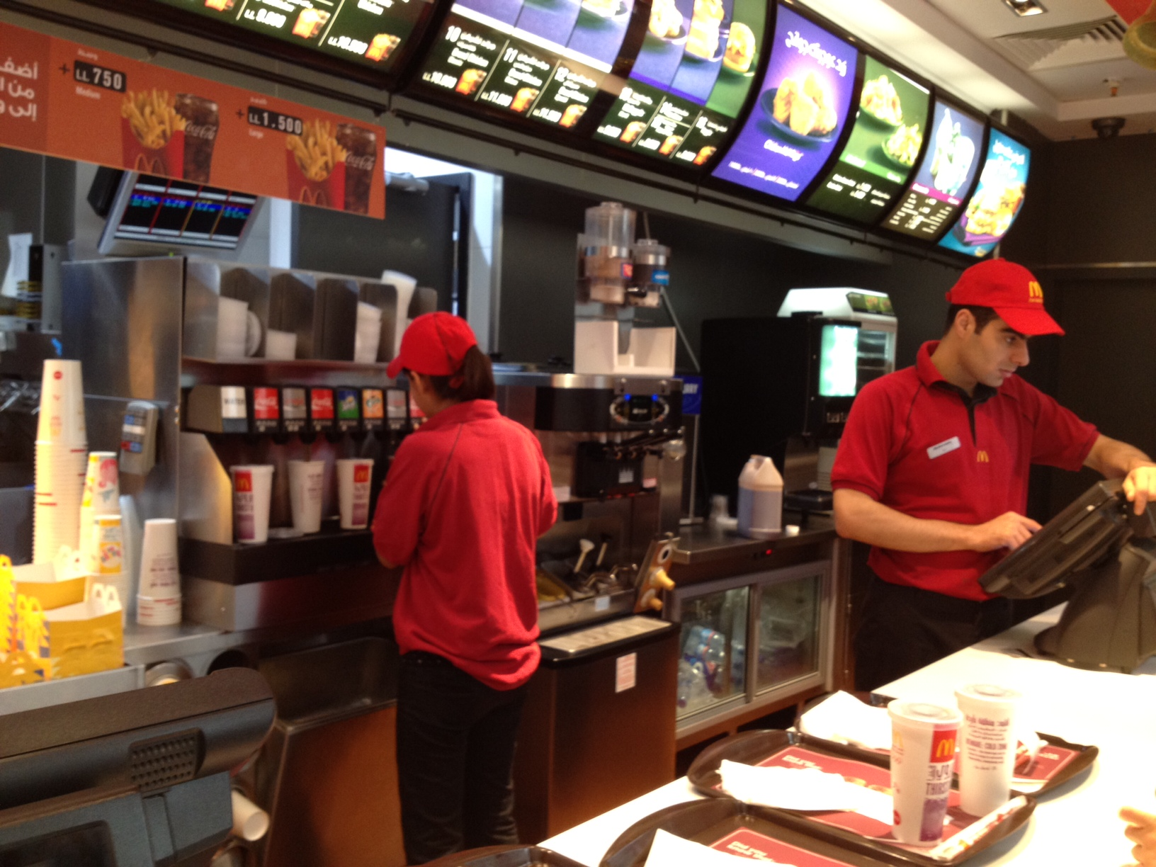 a look at the job of a fast food worker Careers / combined food preparation and serving workers fast food worker : 21 food server, kitchen keeping up-to-date technically and applying new knowledge to your job 48: processing information.