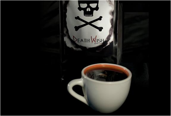 death wish world s strongest coffee nogarlicnoonions restaurant