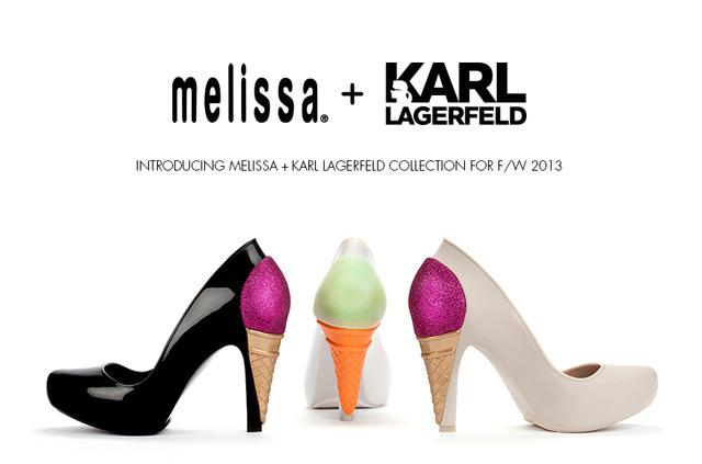 Resultado de imagen para Ice Cream Pumps Karl Lagerfeld melissa