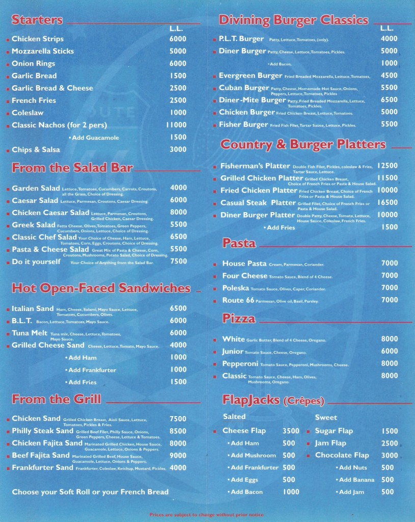 Roadster_Diner_Old_Menu_Lebanon
