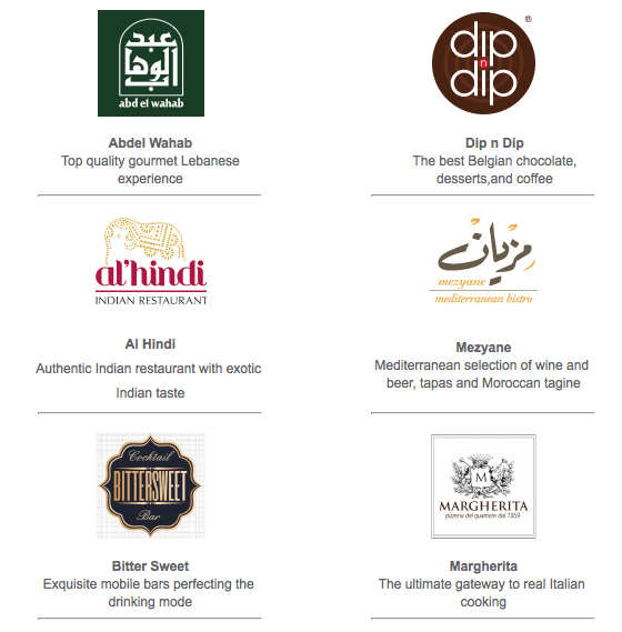 Taste of Beirut Restaurants