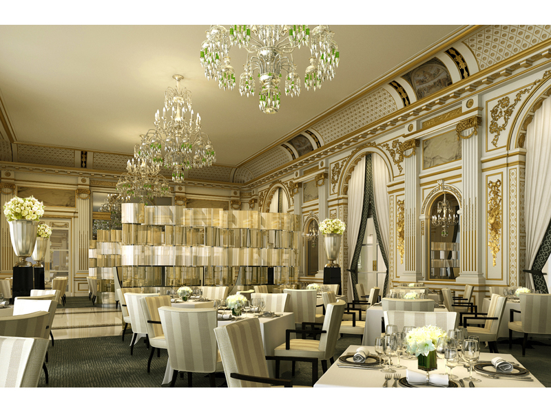 the peninsula paris new standards in design luxury and comfort nogarlicnoonions restaurant. Black Bedroom Furniture Sets. Home Design Ideas