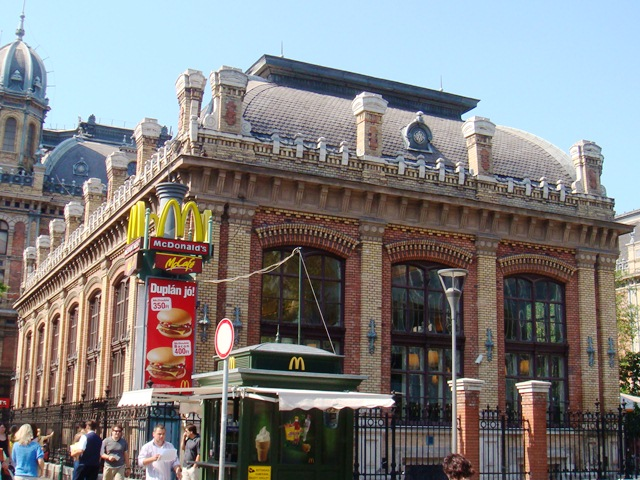 Budapest Mc Donald's