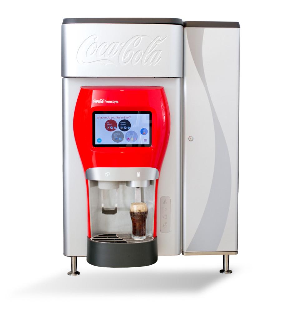 New Freestyle Coca Cola Fountain Soda Machine