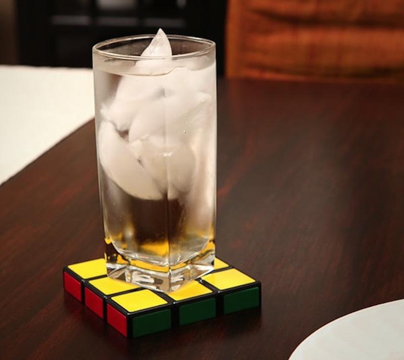 Rubik-Cube-Coasters