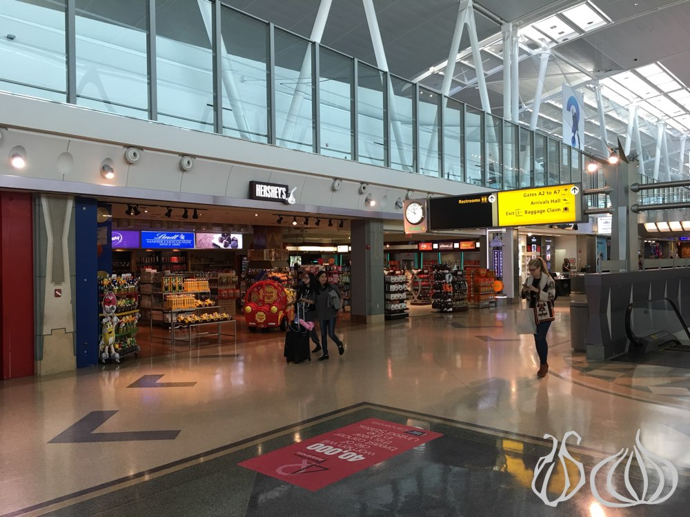 JFK Terminal 4: Huge and Full of Choices :: NoGarlicNoOnions