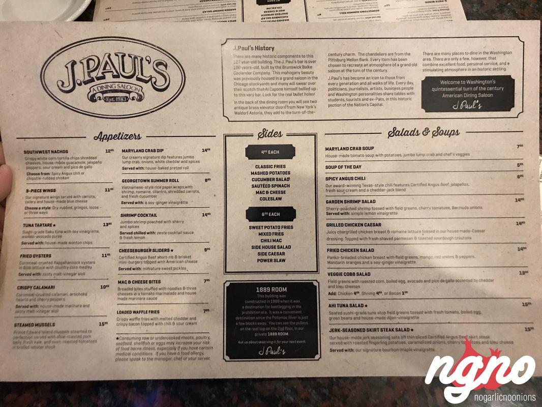 J Paul's: A Century Old Diner in Georgetown