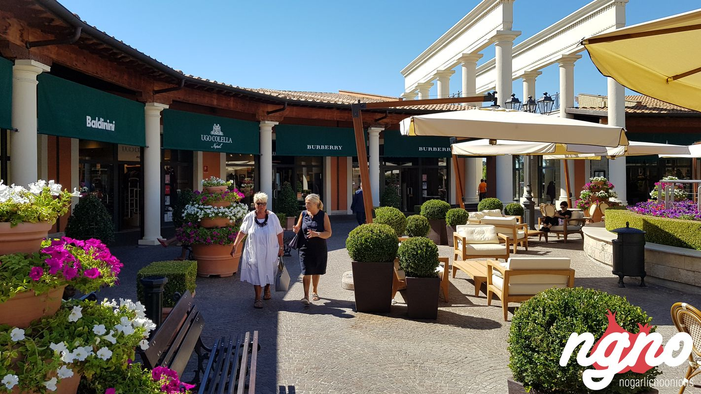 Shopping in Rome: Castel Romano Designer Outlet :: NoGarlicNoOnions ...