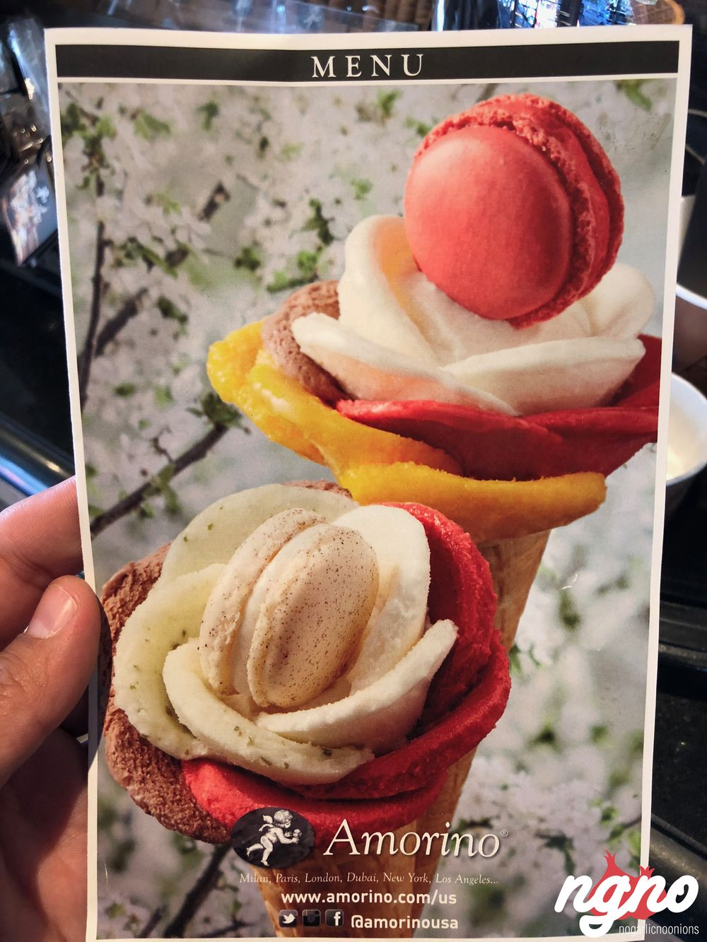 ... Amorino New York: The World Famous Flower Ice Cream