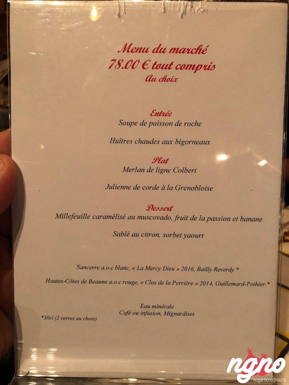 marius et jeanette: an upscale seafood restaurant in paris