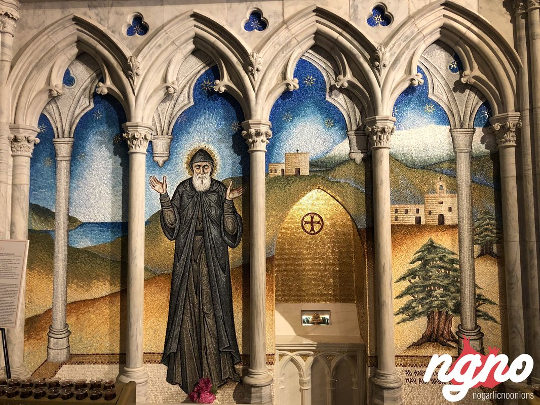 The Chapel of Saint Charbel Occupies an Important Spot Inside St
