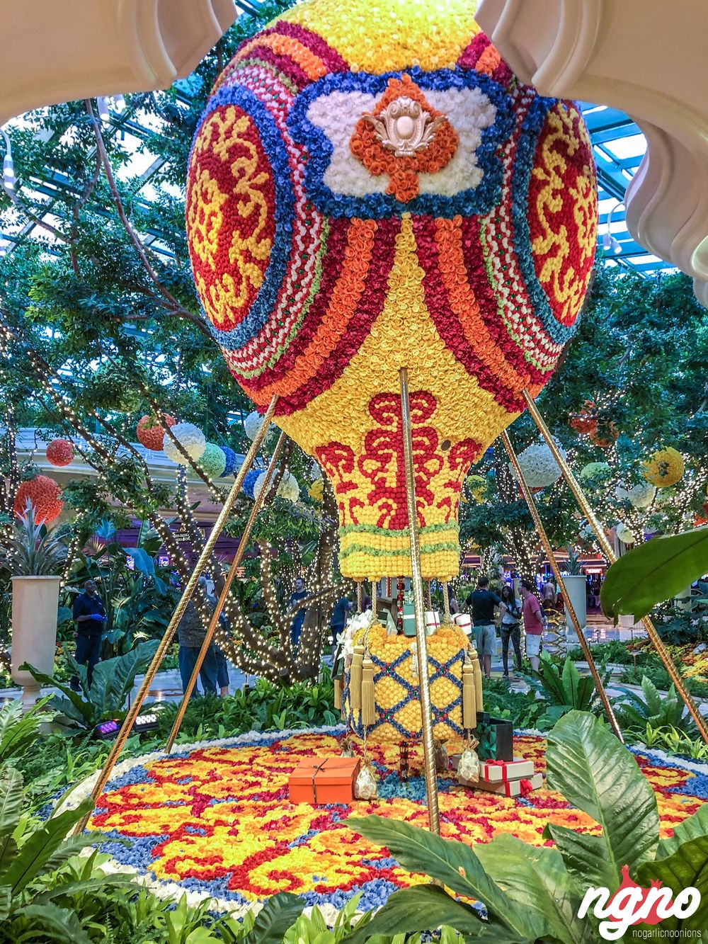 Floral Fantasy By Preston Bailey At The Wynn Hotel Las Vegas Nogarlicnoonions Restaurant Food And Travel Stories Reviews Lebanon
