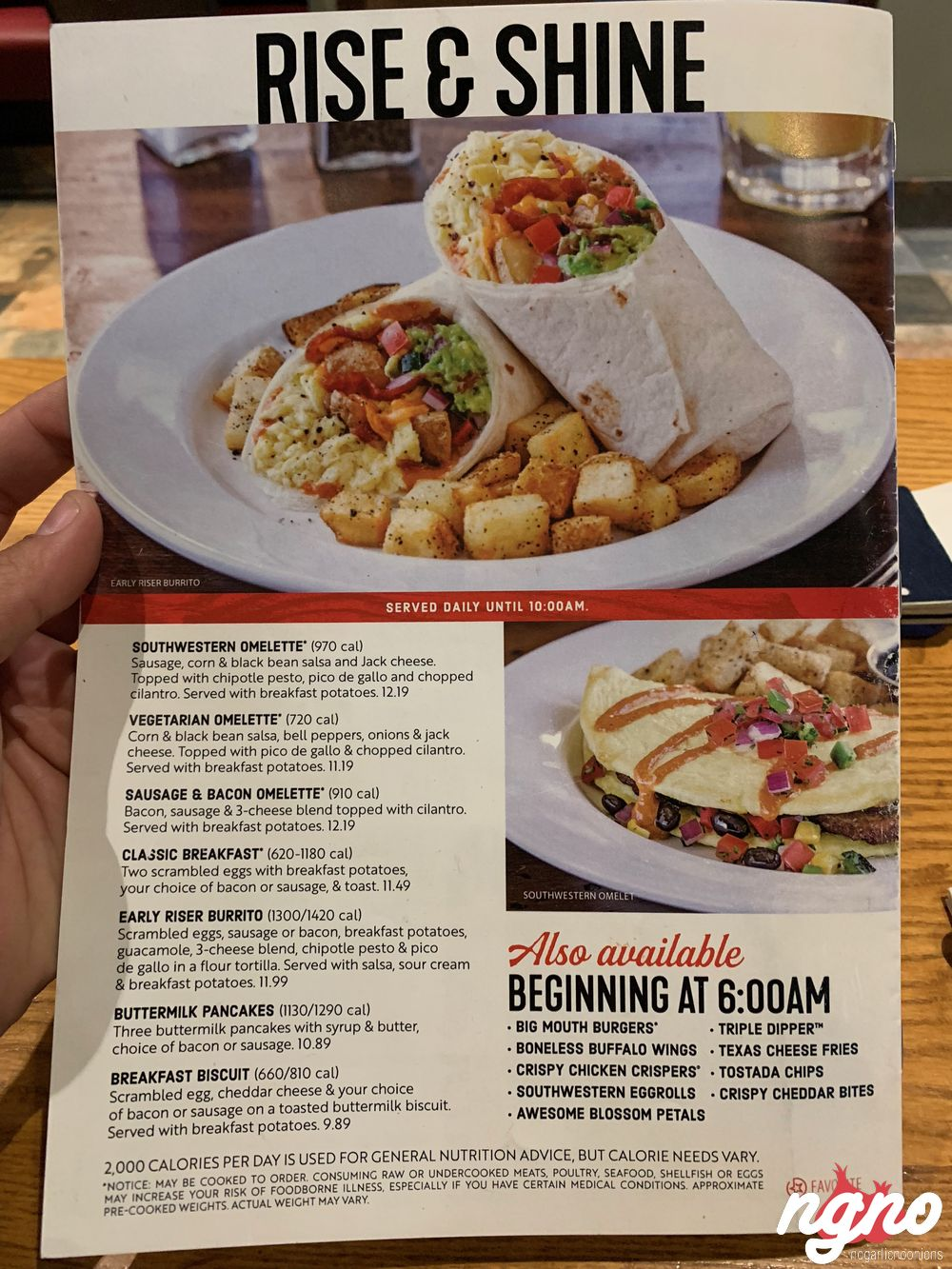 Chili's at The Airport in Las Vegas Serves Tasty American Food
