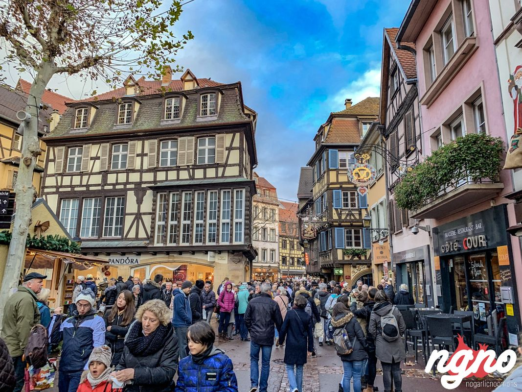Colmar Christmas Market.Colmar Christmas Market Nogarlicnoonions Restaurant