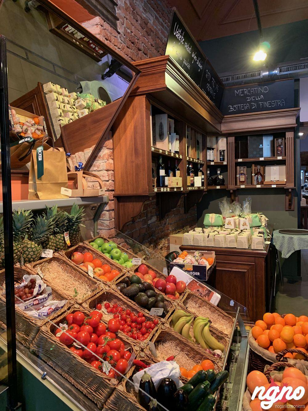 La bottega di finestra the italian marketplace of prague nogarlicnoonions restaurant food - La finestra prague ...
