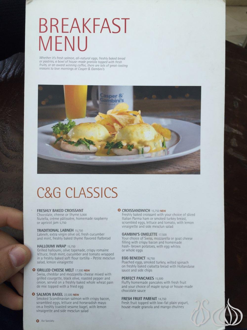 Breakfast at Casper&Gambini\'s ABC Achrafieh :: NoGarlicNoOnions ...
