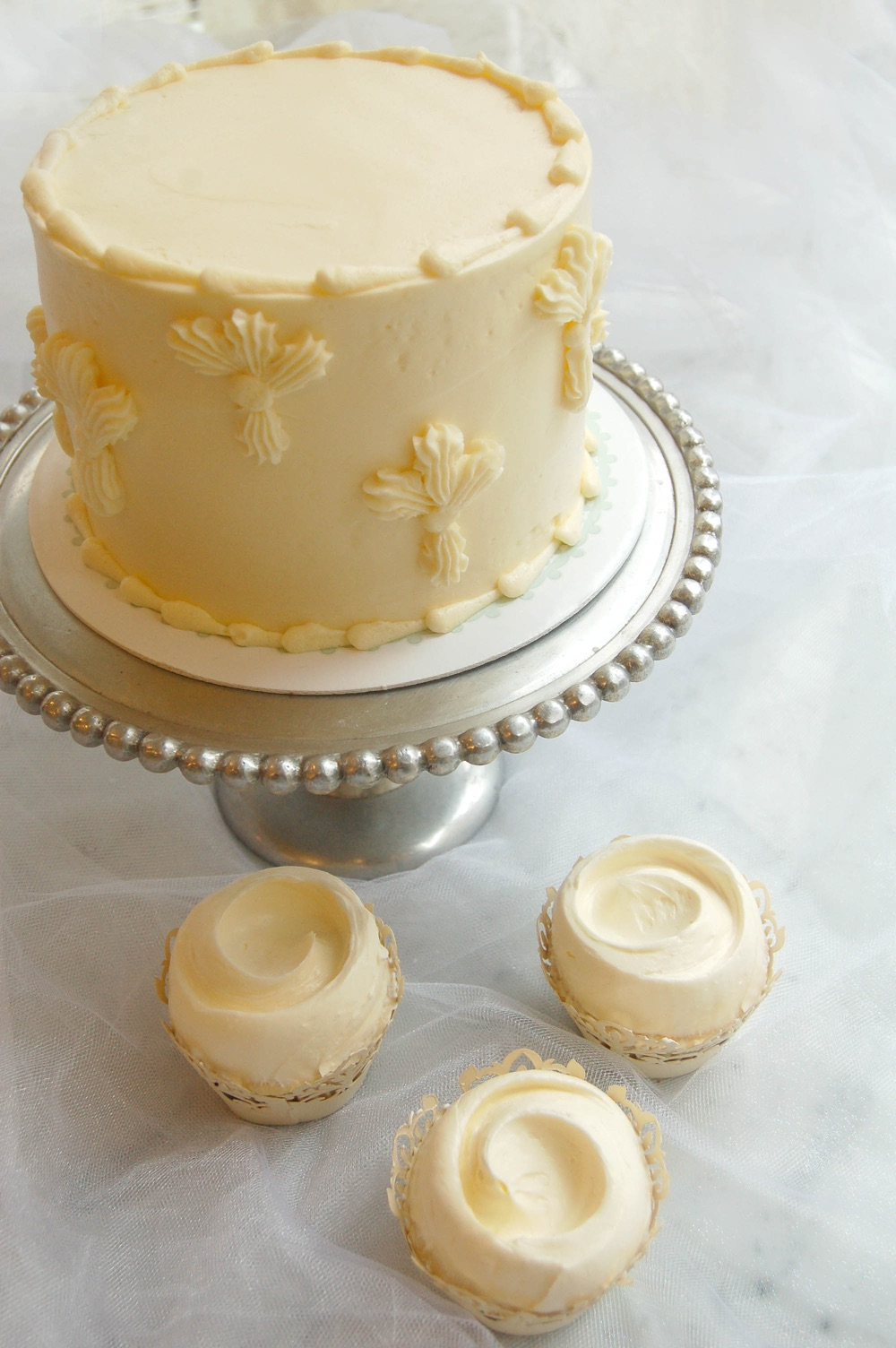 Magnolia Bakery - Elderflower cake