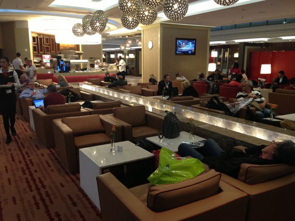 Stepping Into Another Dimension Emirates Business Lounge