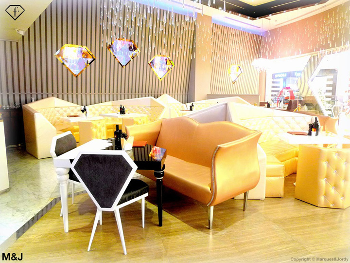 Fashion cafe sparkles in abu dhabi nogarlicnoonions