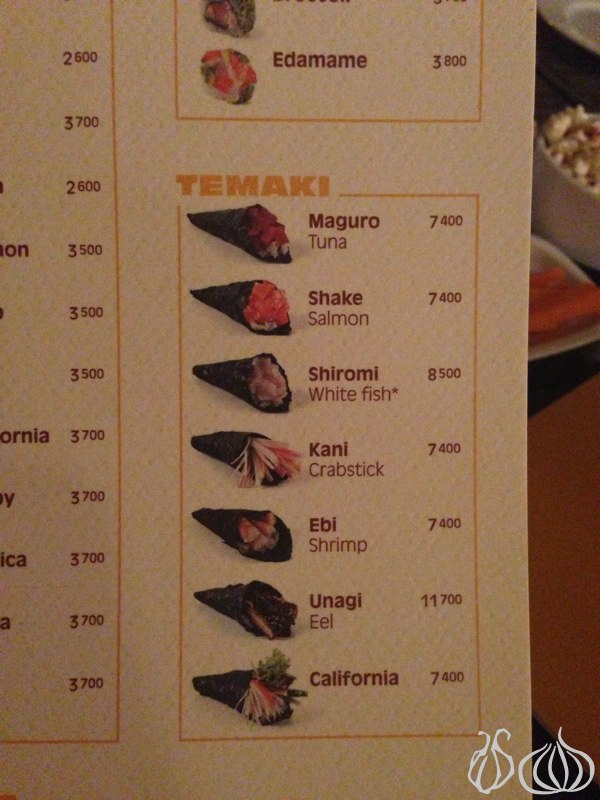 Downtown: A Place to Order Everything Except Sushi
