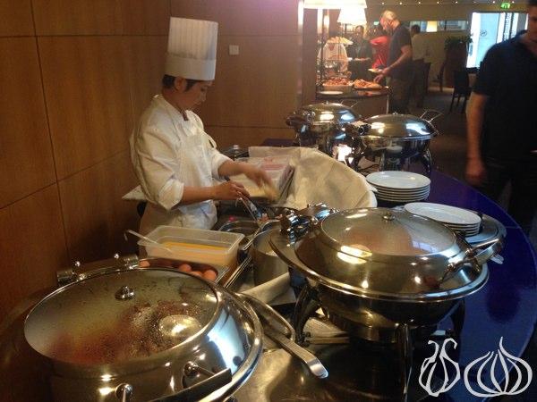 Breakfast at the Sheraton Hotel, Paris Airport